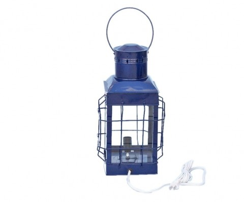 """Iron Chief's Electric Lamp 19"""" - Blue"""