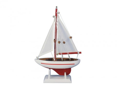 Pacific Sailer Red 9""