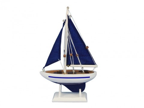 Pacific Sailer Blue - Blue Sails 9""