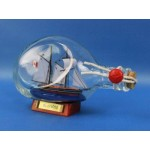 """Bluenose Sailboat in a Bottle 7"""""""