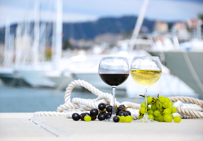 Wine in the Harbor