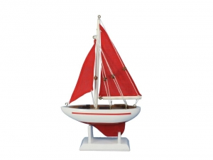 """Pacific Sailer Red - Red Sails 9"""""""
